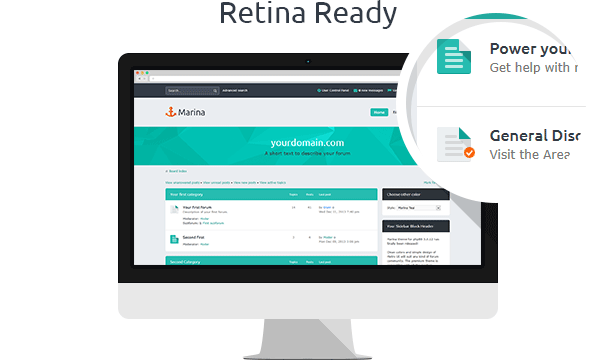 Marina — Responsive & Retina Ready phpBB3 Theme - 2