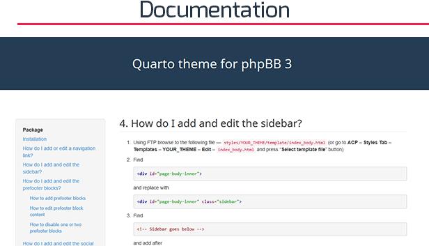 Quarto —phpBB3 Responsive & Retina Ready Theme - 6