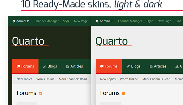 Quarto — vBulletin 5 Responsive Retina Ready Theme - 3