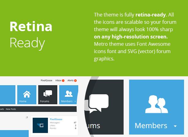 Metro — XenForo Responsive & Retina Ready Theme - 2