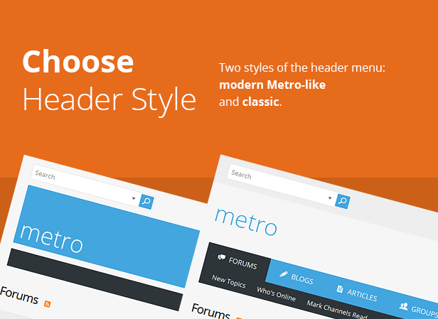 Metro - A Theme for vBulletin 4 and 5 - 5